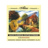 Струна гитарная №4 нейлон/медь, Alice A106-4