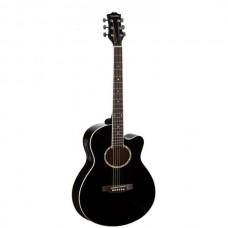 Электроакустическая гитара COLOMBO LF-401CEQ BK