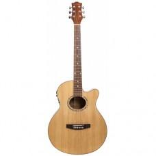 Электроакустическая гитара COLOMBO LF - 401 CEQ / N