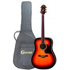 Акустическая гитара CRAFTER D-8 TS+чехол