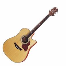 Электроакустическая гитара CRAFTER DE-6 N+чехол