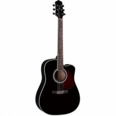 DG220CBK Акустическая гитара с вырезом Naranda