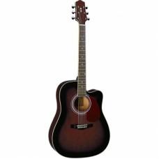 DG220CWRS Акустическая гитара с вырезом Naranda