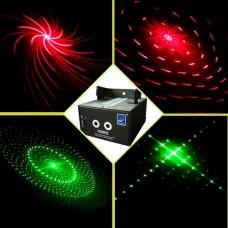 K002RG Лазерный проектор, красный+зеленый, Big Dipper