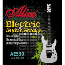 Комплект струн для электрогитары, никель, 10-46 Alice AE530L 532