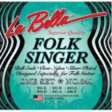 Комплект струн для классической гитары, шарик La Bella