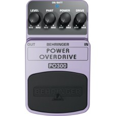Педаль эффектов Behringer PO300 POWER OVERDRIVE