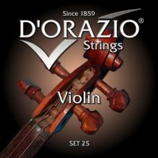 Струны D'ORAZIO SET 25 (скрипичные)