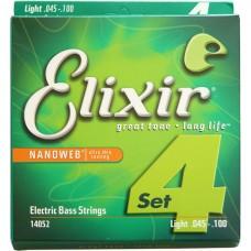 Струны для бас-гитары ELIXIR 14052