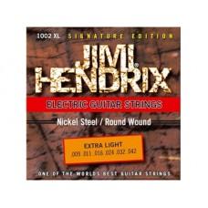 Комплект струн для электрогитары JIMI HENDRIX 1002 XL