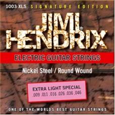 Комплект струн для электрогитары JIMI HENDRIX 1003 XLS
