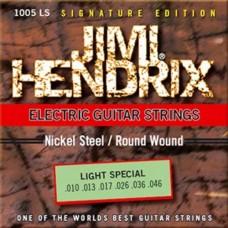 Комплект струн для электрогитары JIMI HENDRIX 1005 LS