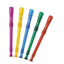 ASRB-251 Color Блокфлейта сопрано, барочная система, пластик, 2 части, Angel