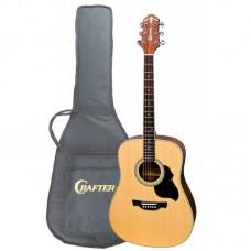 Акустическая гитара CRAFTER D-6 N+чехол