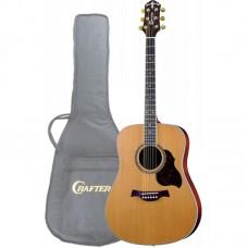 Акустическая гитара CRAFTER D-7 N+чехол